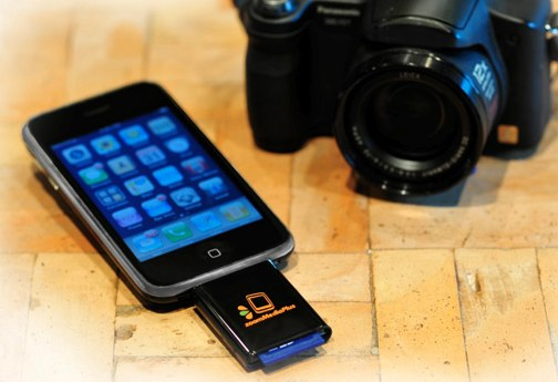 zoomit sd card iphone 1 Lecteur de carte SD pour iPhone